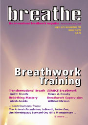 Rebirthing and Breathwork Training issue
